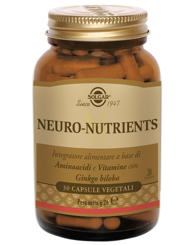 Solgar Neuro-Nutrients Integratore 30 Capsule