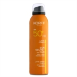 Korff Linea Sun Secret SPF50 Latte Solare Emulsione Fresca Spray Corpo 200 ml