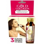 Minerva Research Labs Gold Collagen Pure Weekend 3 Flaconi 50 Ml
