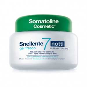 Somatoline Cosmetic Linea Snellenti Gel Fresco Ultra Intensivo 7 Notti 400 ml