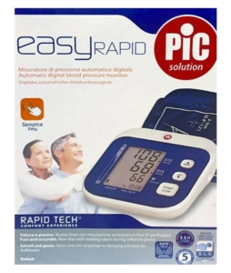 Pic Solution Linea Elettromedicali Easy Rapid Misuratore Digitale Pressione